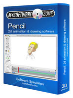 2D Animation Animate Cartoons Drawing Software Computer Program