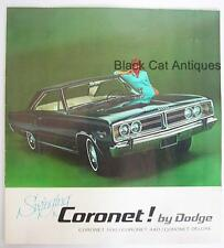 Vintage 1969 Chrysler Swinging Coronet Deluxe, 500, 440, Coronet Deluxe Brochure