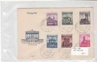 german democratic republic 1955 stamps cover ref 19221