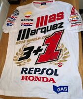 Marc Marquez signed official Repsol Honda 2014 World Championship Shirt + COA