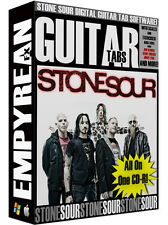 Stone Sour Guitar Tabs CD-R Digital Lessons Software Windows Mac Corey Taylor