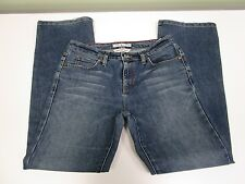 Tommy Hilfiger Jeans Hipster Bootcut Distressed Medium Wash Women's Size 8 EUC