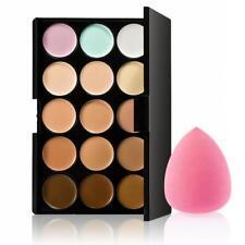 15 colores de la paleta Corrector Contorno + 1 maquillaje impecable