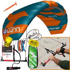 Peter Lynn Hornet 5M Foil Power Kite Kiteboarding 4-Line Fixed Control Bar 2017