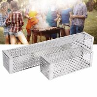 6'' 12'' Square BBQ Pellet Smoker Tube Stainless Steel Cold Smoke Generator Box