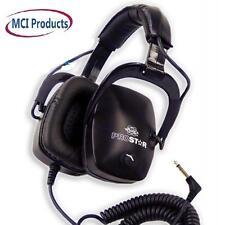 Whites ProStar Headphones 50 OHM Mylar Speakers with Titanium Coating802-5323