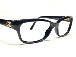 Gucci GG3648 D28 Women's Black Cat's Eye Rx Designer Eyeglasses Frames 53/15~140