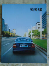 Volvo S80 brochure Dec 2001