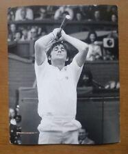 Ilie Nastase during the 1972 Wimbledon Final - Press Photograph (10'' x 8'')