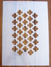 Maschera Marocchino Traliccio Stencil Riutilizzabile Mylar Foglio per Arts & Crafts, fai da te