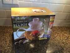 NIB Primula Tea Pot with Loose Tea Infuser 40oz