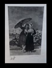 [ESPANA] SALLES (Léon) - [Eau-forte originale signée] Les Jeunes, d'après Goya.