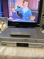 Panasonic PV-D734S DVD VCR VHS Combo Player Recorder 4 Head Hi-Fi with remote