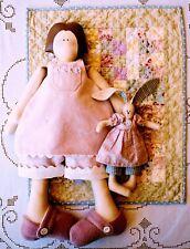 Primitive Pattern - Rosalie Quinland Designs - Doll - Bunny - Quilt, Quilting