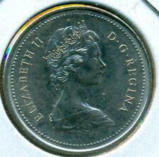 1973 CANADA RCMP TWENTY-FIVE CENTS, CHOICE BRILLIANT UNCIRCULATED, GREAT PRICE!