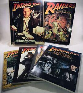 World Of Indiana Jones MasterBook RPG Game Set And Books Lot, Unused