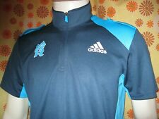 Ancien POLO MAILLOT ADIDAS LONDON 2012 JEUX OLYMPIQUES LONDRES Olympic Games JO
