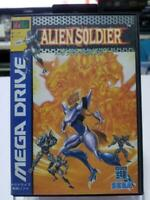 Alien Soldier MegaDrive MD Genesis Used Japan Action Boxed Tested Working 1995