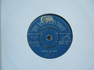 """RECORD 7"""" SINGLE JOHNNY KIDD & THE PIRATES SHAKIN ALL OVER 1144"""