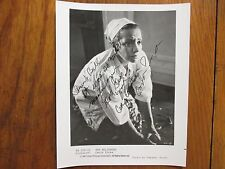 "CARLA PINZA (""The Believers/Sweet Love Bitter"")Signed 8 X 10 Glossy B & W Photo"
