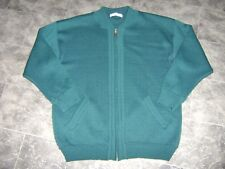 St Michael From M & S, Ladies Zip Up Wool Mix Cardigan, Size Large