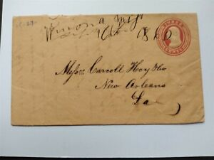 Mississippi: Winona 1860 Cover, Ms, First Year of Operation, Montgomery Co
