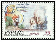 España Spain 1999 - Edifil 3660 Año Int. Personas mayores mnh