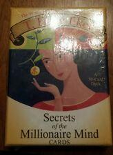 NEW SECRETS OF THE MILLIONAIRE MIND by T. HARV EKER MOTIVATIONAL CARDS TRAINING