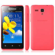"Lenovo A396 4.0"" Screen Android 2.3 Dual Sim Quad Core WIFI 3G WCDMA Smartphone"