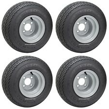(4) Club Car Precedent Kenda Hole In One Golf Cart Tire & Wheel Assembly Combo