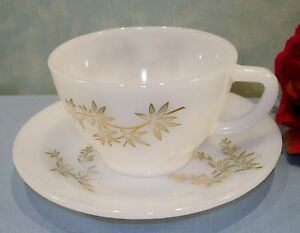Federal Golden Glory 22K Gold Trimmed Cup and Saucer