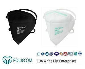 Powecom KN95 Protective Headband Face Mask Respirator 10 pcs KN 95