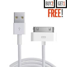 iPhone 4 4S 3G 3GS iPad iPod Touch Nano Charging lead charger USB Data cable