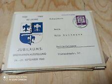 Deutschland ab 1945 Brief/Karten Sammlung Köpfe Notopfer tolle Stempel Zonen Sbz
