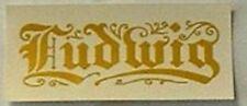 Ludwig Fallboard Decal