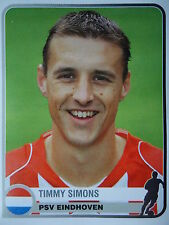 Panini 303 Timmy Simons PSV Eindhoven Champions of Europe 1955-2005