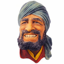 """BOSSONS PUNJABI WALL HANGING 3.5"""" tall made in England CHALKWARE NEW NEVER SOLD"""