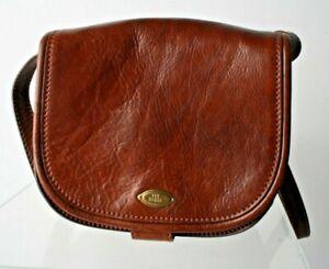 Ladies The Bridge Vintage Brown Genuine Leather Small