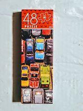 NEW Bunch Of Cars 48 piece puzzle vintage Hotwheels Matchbox TootsieToy Maisto