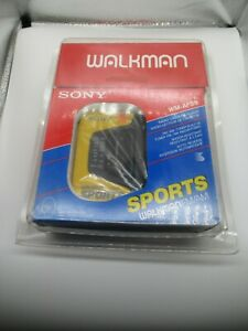 Vintage Sony Walkman Cassette WM-AF59 NIB Factory Sealed With Headphones