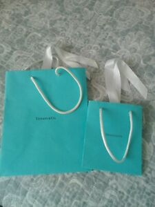 Tiffany and co gift bags X2 new