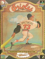 1973 Baltimore Orioles Official Yearbook