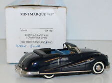 MINIMARQUE 1/43 UK14B - 1949 AUSTIN ATLANTIC A90 CONVERTIBLE - OPEN - DARK BLUE