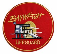 """Baywatch TV Series Lifeguard 4"""" Diameter Embroidered Patch"""