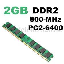 DDR2-800Mhz 2 GB PC2-6400 240pin Desktop Memory Memoria AMD Chipset Motherboard