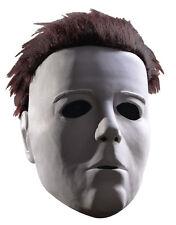 Halloween Mask, Mens Michael Myers 3/4 Vinyl Mask With Hair
