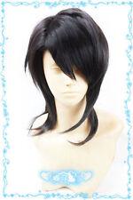 USJF10325 medium black  hair wig fashion straight wig cosplay wig women wigs