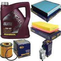 Inspektionspaket 5L MANNOL Elite 5W-40 + SCT Filter Kit 10757029
