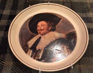 Fabulous Rare Vintage Hornsea Cinnamon Plate Showing 1624 Portrait