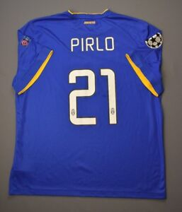 Pirlo Juventus Jersey Autographed 2014 CUP Away XXL Shirt Mens Maglia Nikeig93